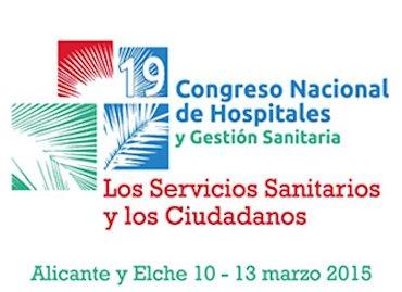 19 Congreso Nacional de Hospitales y Gestión Sanitaria