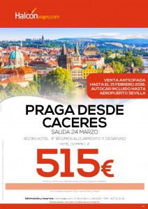 Praga desde Cáceres (Semana Santa 2016)