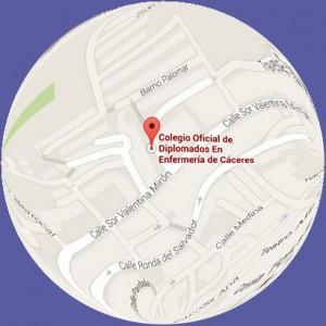 Delegación Plasencia - Googlemaps