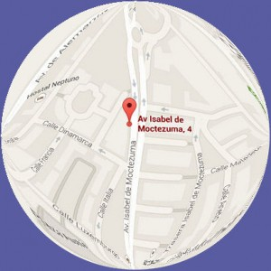 Googlemaps - Sede Central Cáceres