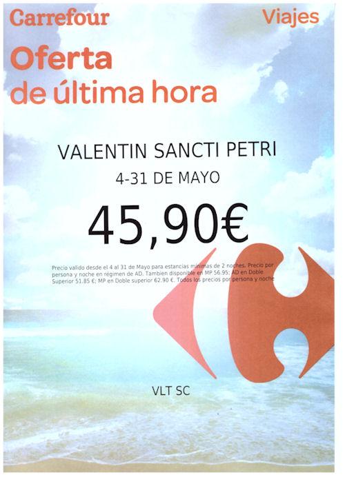 Oferta Carrefour Viajes (Mayo 2015)
