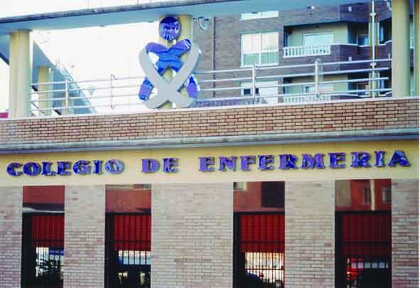 Fachada Colegio Enfermería Sede Central - Cáceres