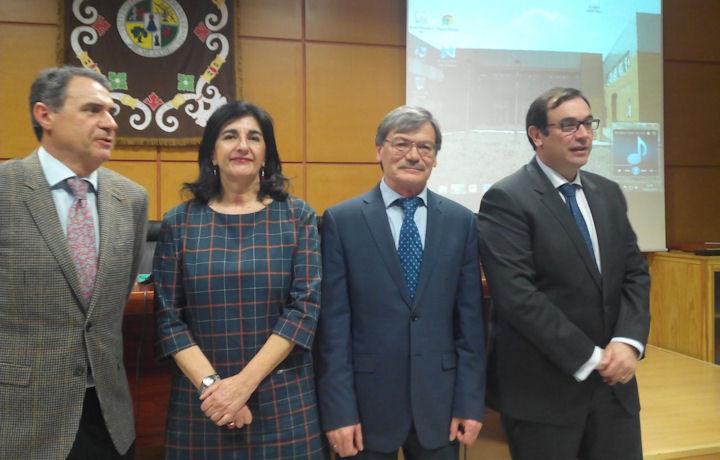 Firma acuerdo marco con la Universidad de Extremadura