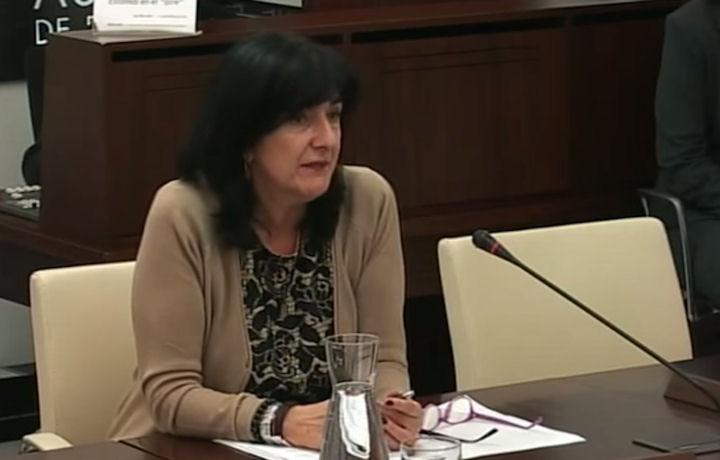 Comparecencia Raquel Rodríguez en Comisión de Salud y Política Sociosanitaria de la Asamblea de Extremadura