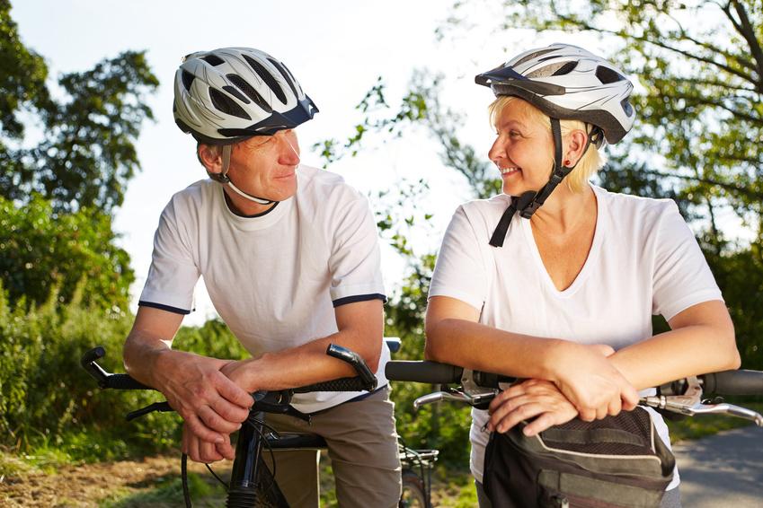 Mayores en bici (jubilación activa)