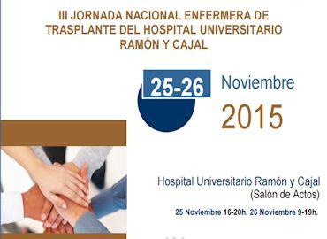 III Jornada nacional enfermera de transplante