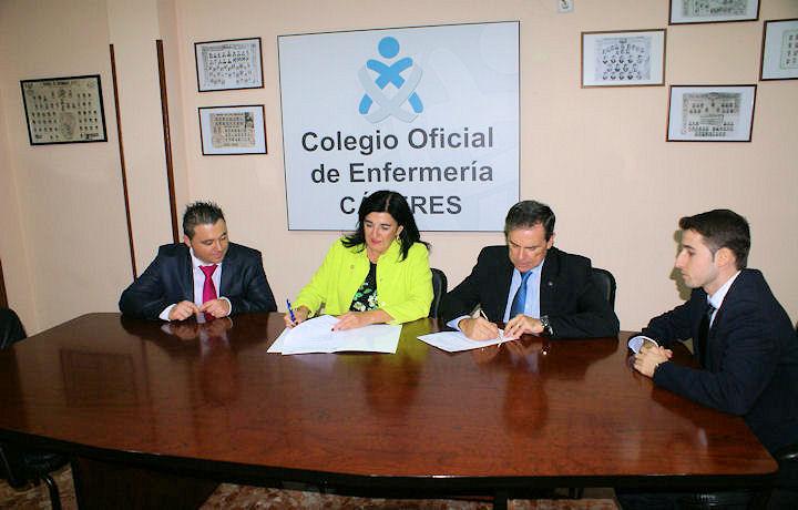Convenio Colaboración con la Asociación de Enfermería Comunitaria