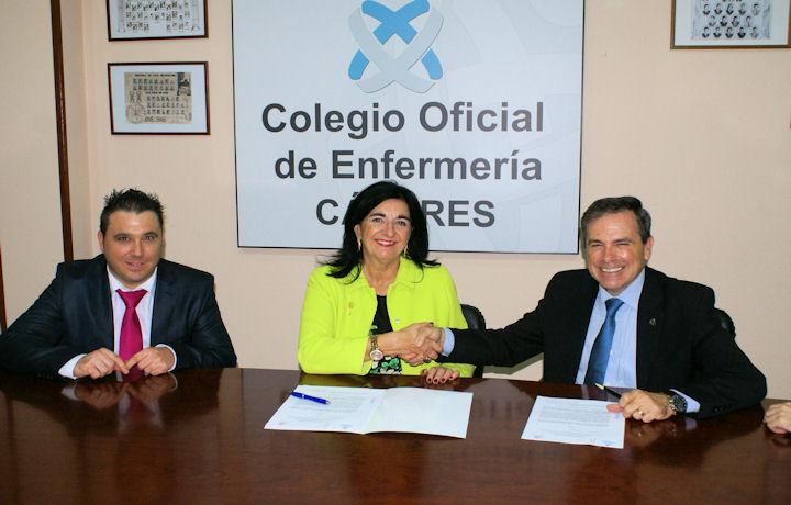 Firma Convenio de Colaboración con la Asociación de Enfermería Comunitaria