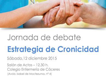 """Jornadas de debate """"Estrategia de Cronicidad"""""""