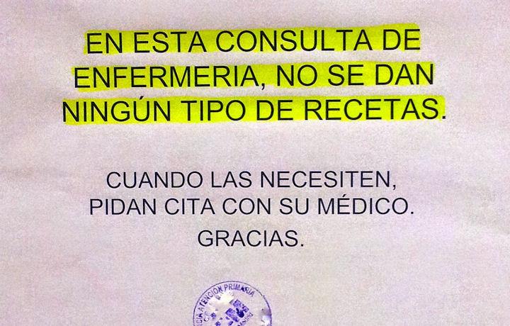 Prescripción Enfermera