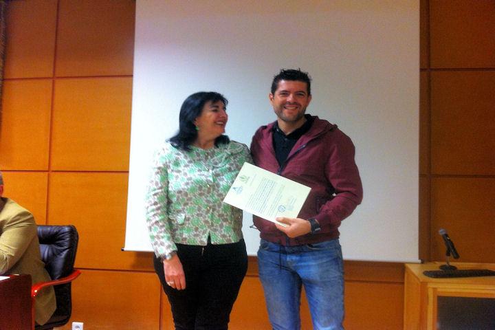 Premio delegado Consejo Estudiantes Facultad Enfermería Cáceres