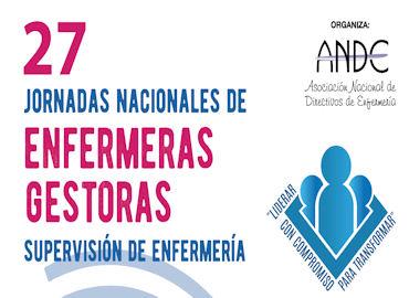 27 Jornadas nacionales de enfermeras gestoras