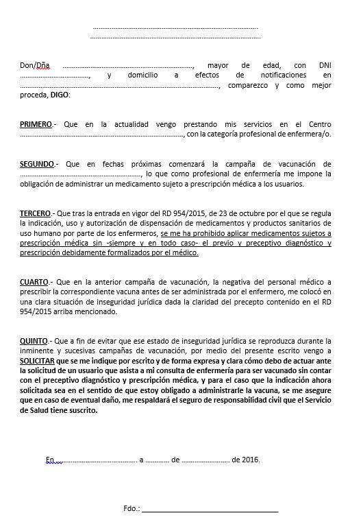 Formulario Vacunas 2016