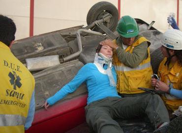 Actuación de Enfermería ante accidentes de múltiples víctimas y catástrofes