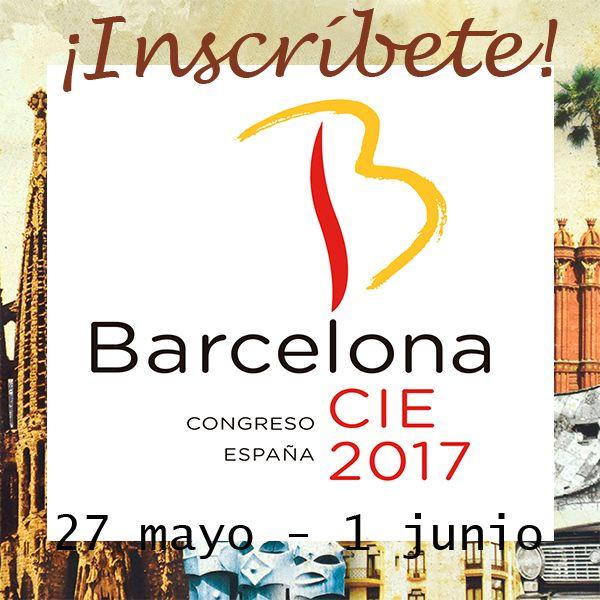 Inscripción CIE 2017 en Barcelona