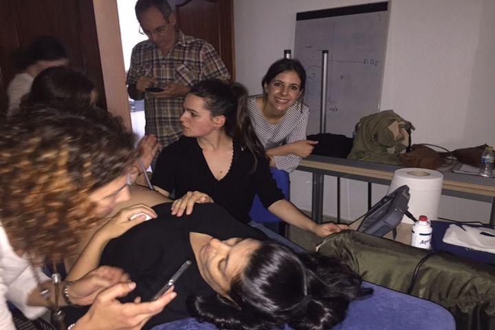I curso de Ecografía Obstétrica para matronas del Colegio de Enfermería de Cáceres