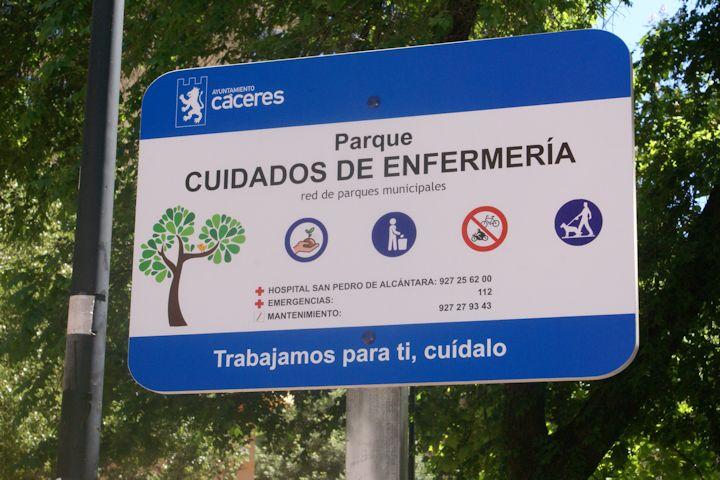 """Parque """"Cuidados de Enfermería"""""""