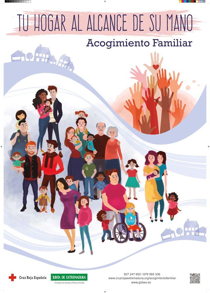 Campaña Acogimiento Familiar - Cruz Roja Extremadura