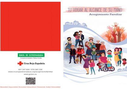 Campaña acogimiento familiar - Cruz Roja - Junta Extremadura