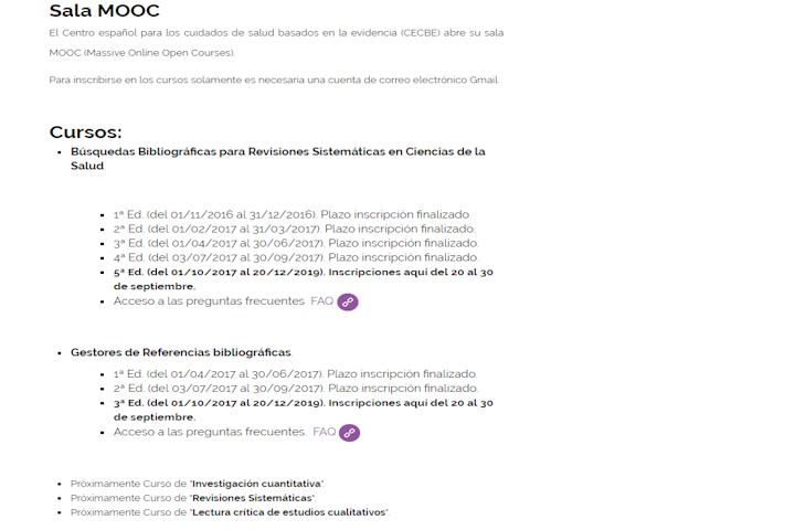 Sala MOOC CECBE