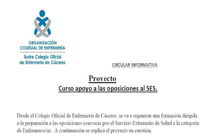 Proyecto Convocatoria Oposiciones SES