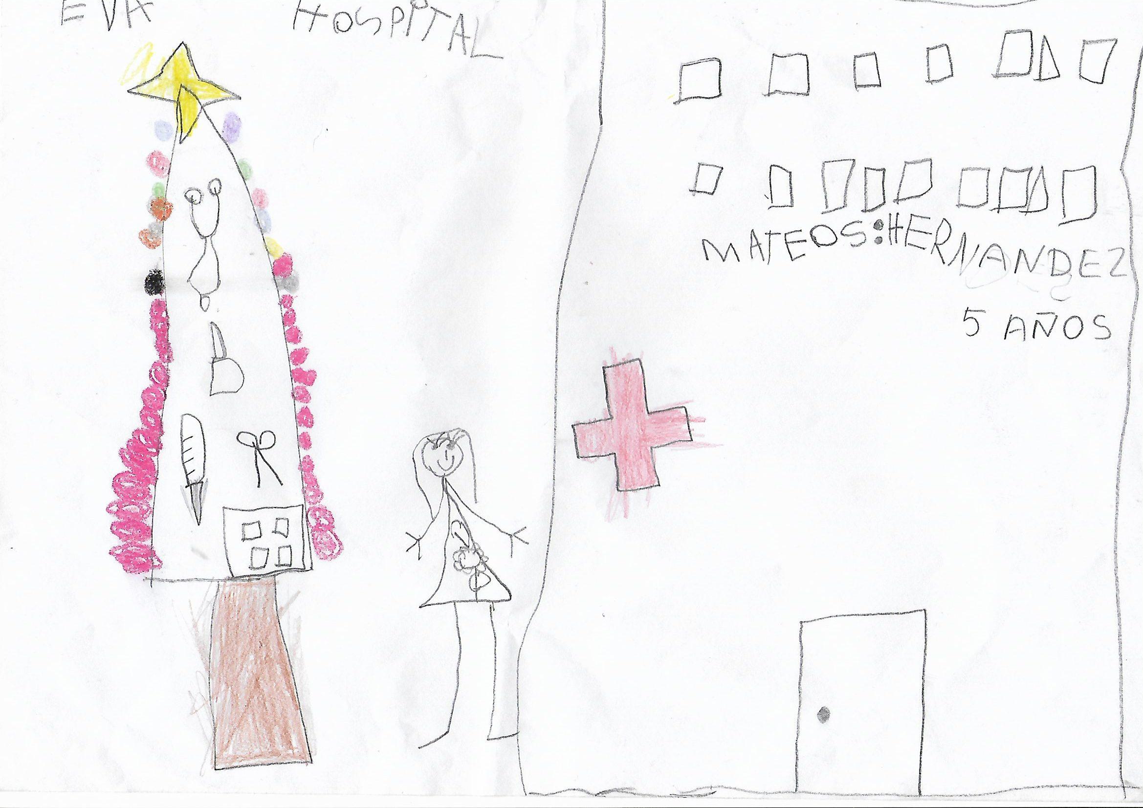 Eva Mateos Hernández (5 años)