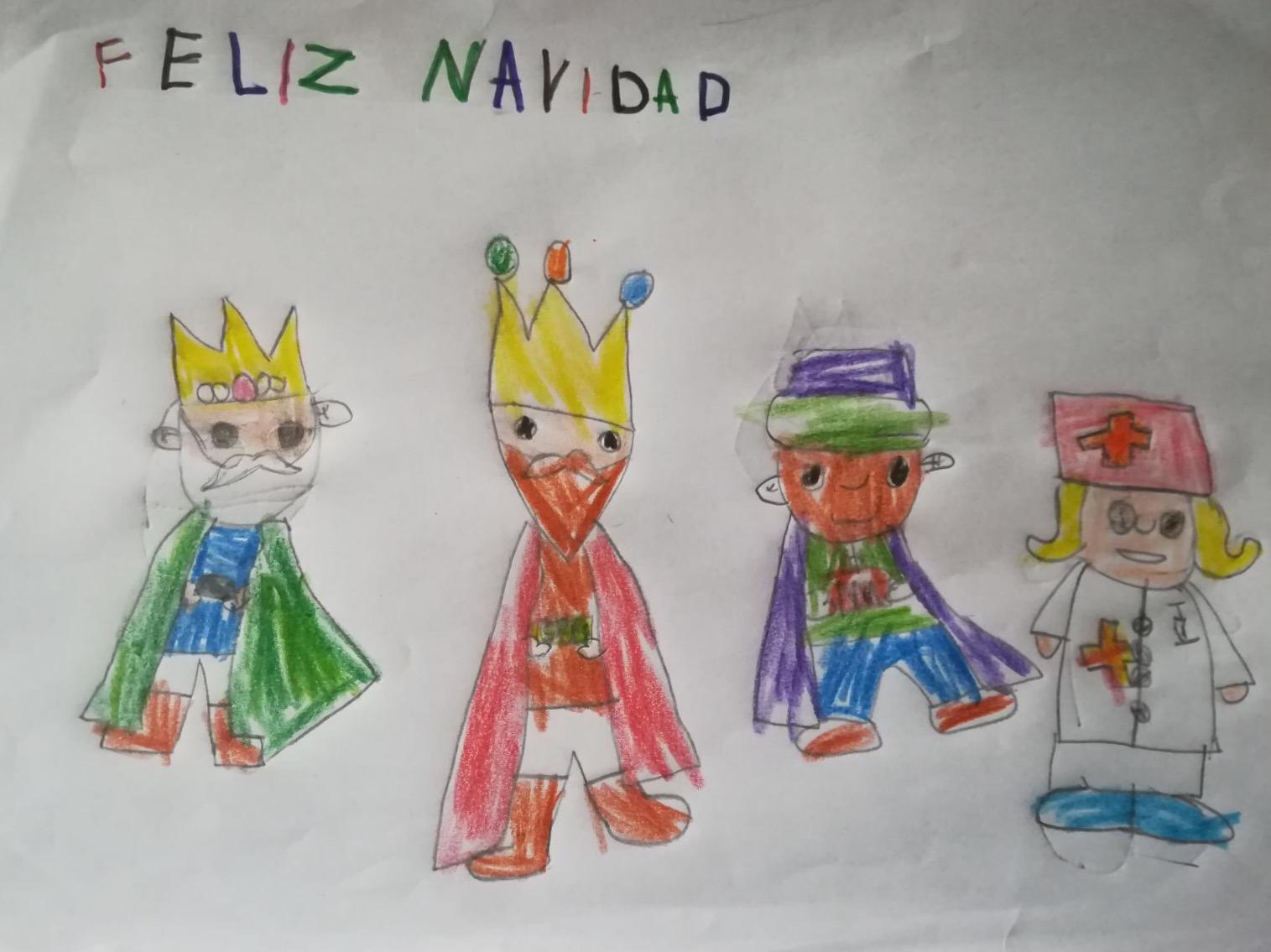 Marcos Sánchez Torres (5 años)