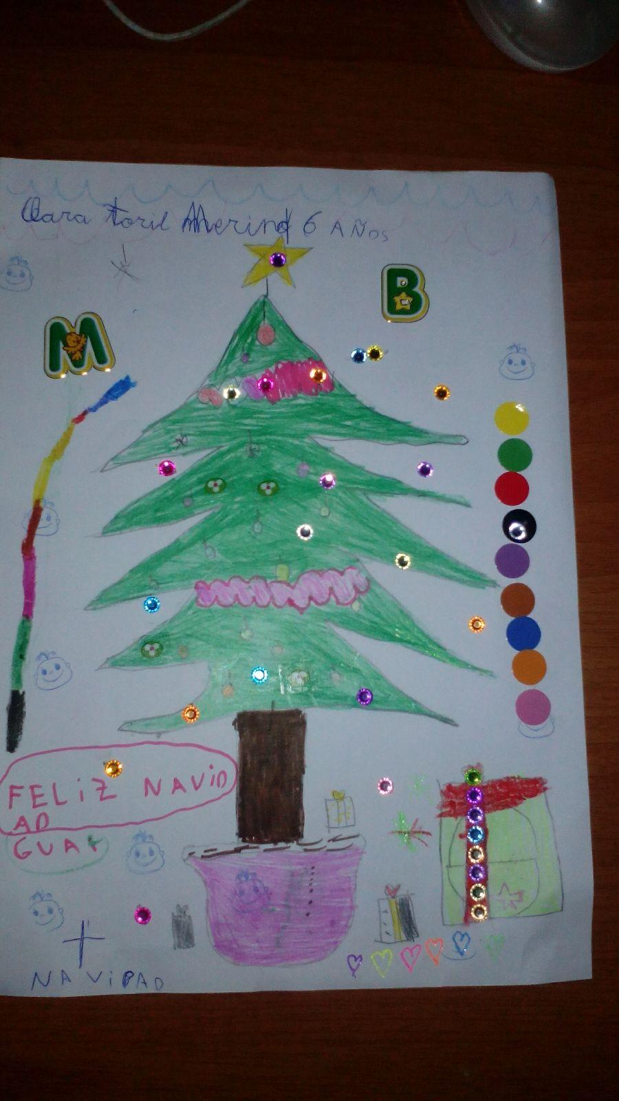 Clara Toril Merino (6 años)