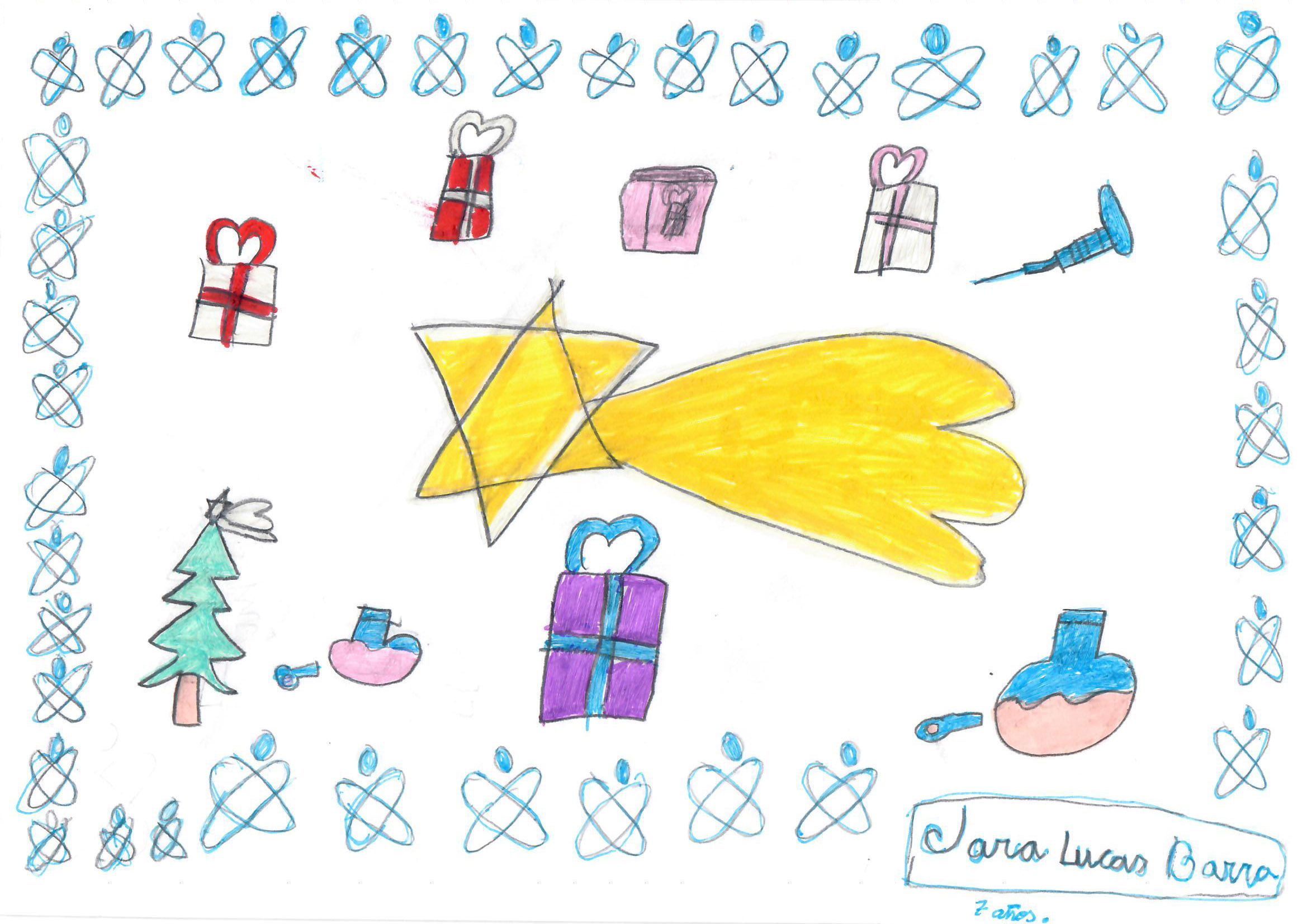 Jara Lucas Barra (7 años)