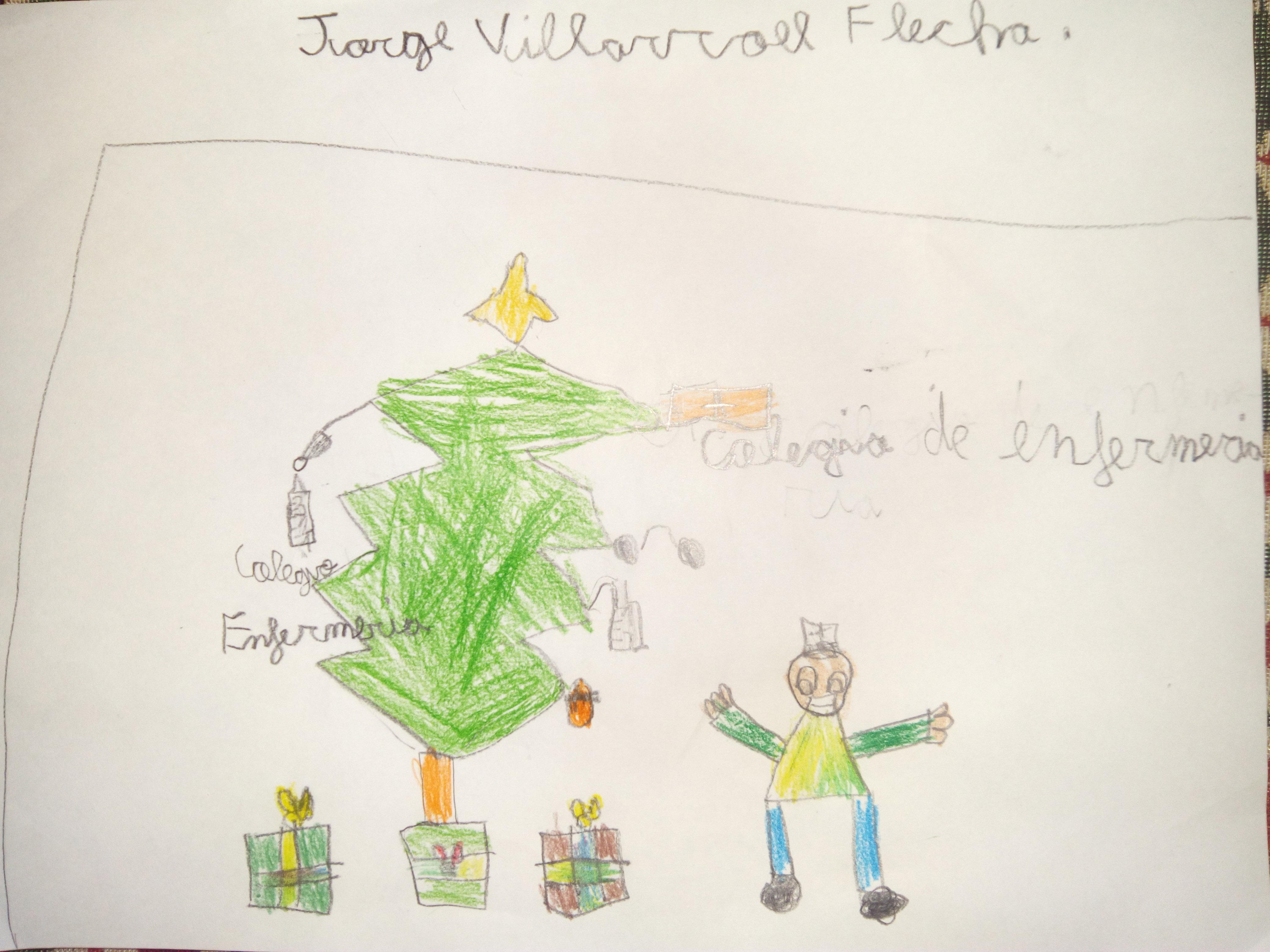 Jorge Villarroel Flecha (7 años)