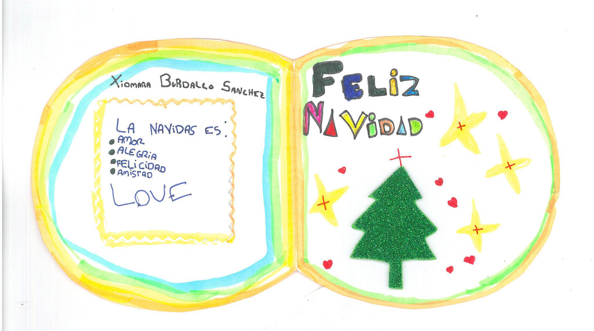 Xiomara Burdallo (9 años)