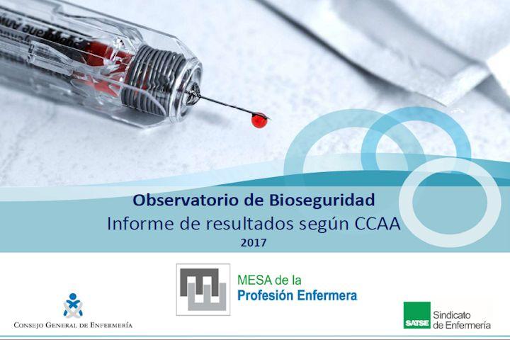 Observatorio de bioseguridad - Informe resultados global CCAA (2017)
