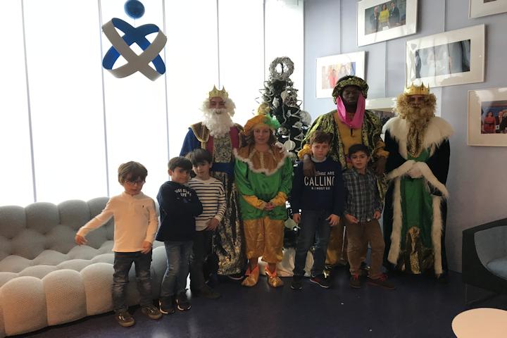 Reyes Magos en el Colegio de Enfermería de Cáceres