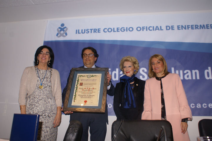 El Colegio celebra la Festividad de su patrón San Juan de Dios
