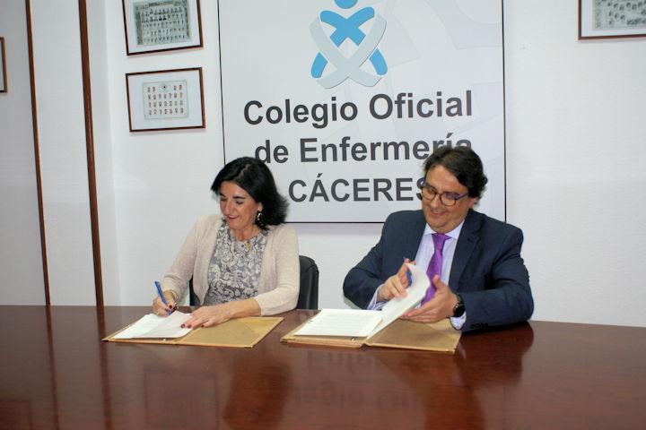 El Colegio y la Junta de Extremadura firman convenio para la sostenibilidad de la Sanidad pública