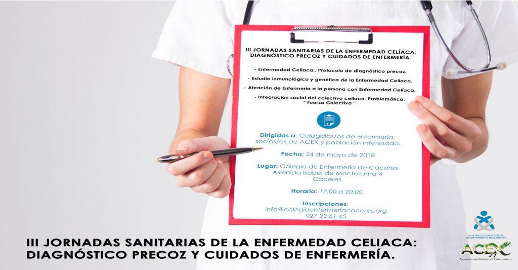 III Jornadas sanitarias de la Enfermedad celiaca