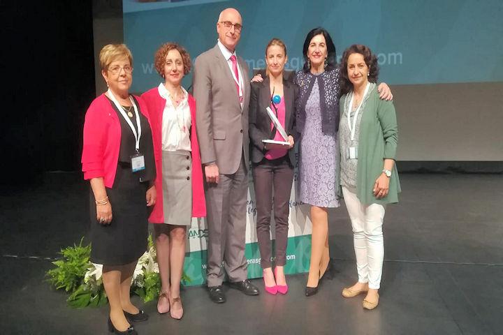 Premio de Investigación otorgado por el Colegio de Enfermería de Cáceres, en las 29 Jornadas de Enfermeras Gestoras