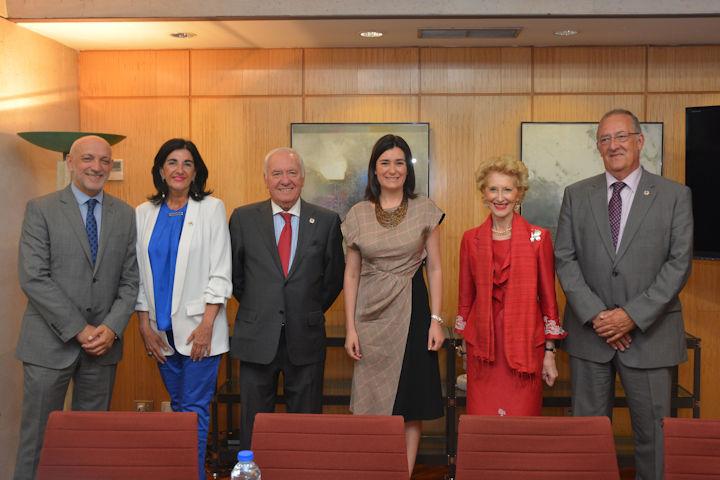 Reunión Ministra Consejo General Enfermería