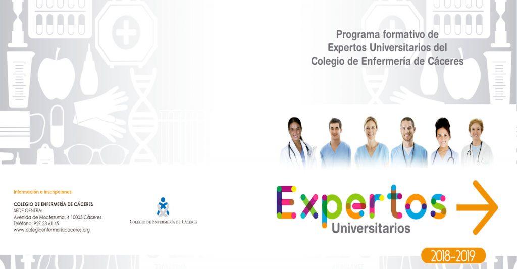 Expertos Universitarios 2018-19