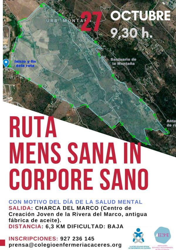 """Ruta senderista """"MENS SANA IN CORPORE SANO"""""""