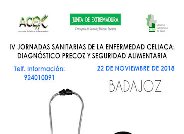 Jornadas Sanitarias de la Enfermedad Celiaca (Badajoz)