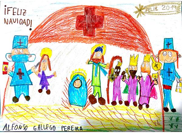 Alfonso Gallego Pereira (8 años)