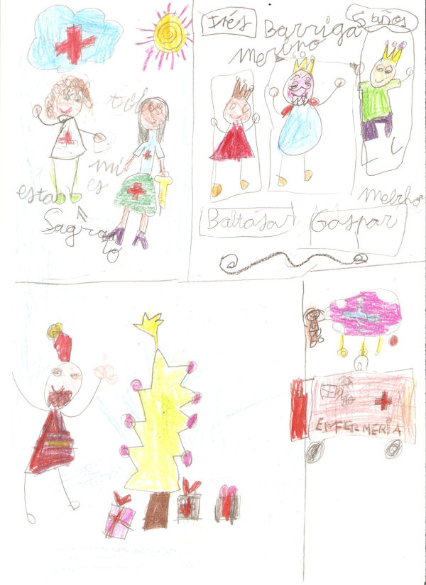 Inés Barriga Merino (5 años)