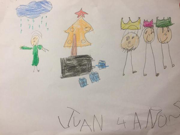 Juan Pascual Catalán (4 años)