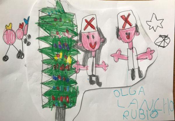Olga Lancho Rubio (4 años)