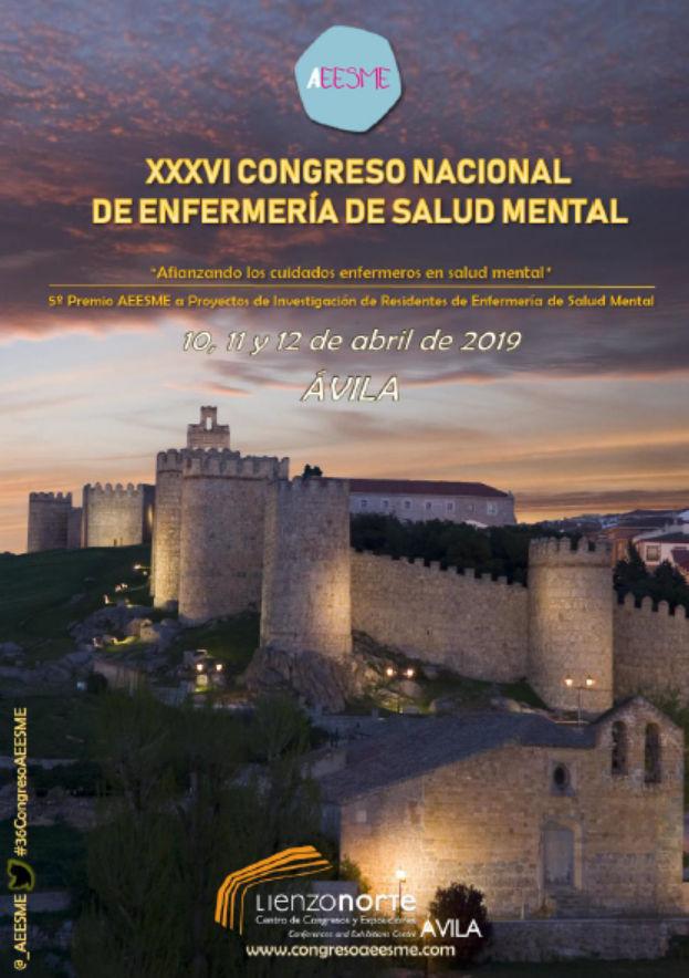Programa XXXVI Congreso Nacional de Enfermería de Salud Mental