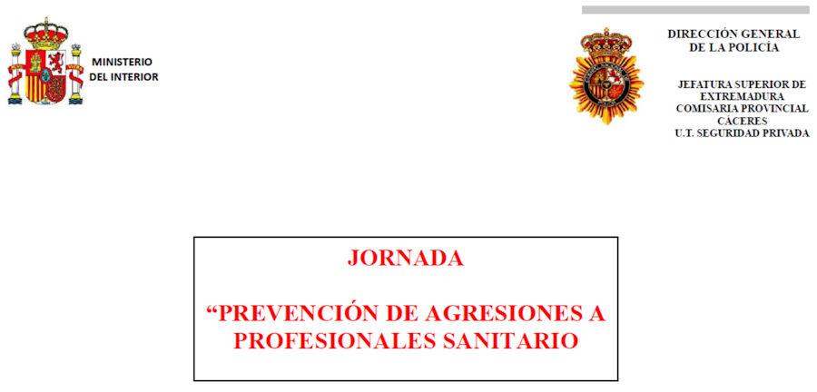 Jornadas Prevención de agresiones a profesionales sanitarios