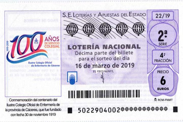Lotería centenario