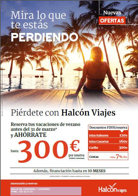 Viajes Halcón - Mira lo que te está perdiendo