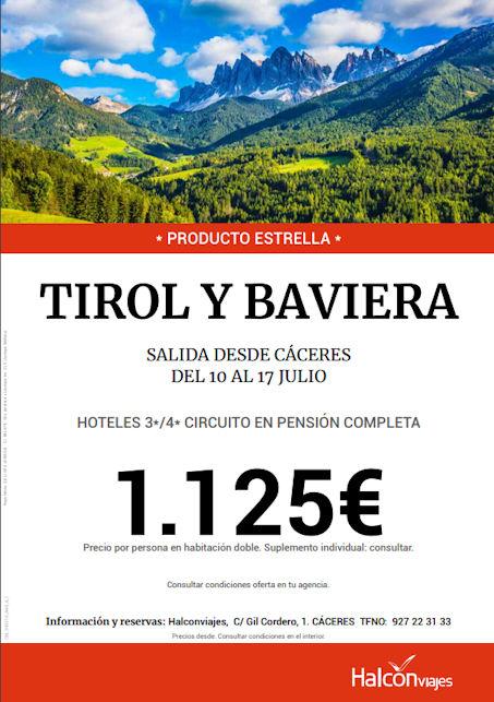 Viajes Halcón - Tirol y Baviera